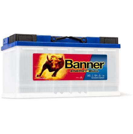 Fritidsbatteri 12V100Ah BannerEnergyBull 95751. LxBXH 354x175x190mm