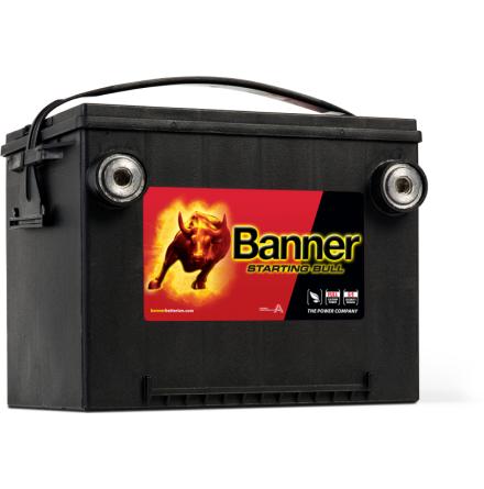Bilbatteri 12V 60Ah Banner Starting Bull