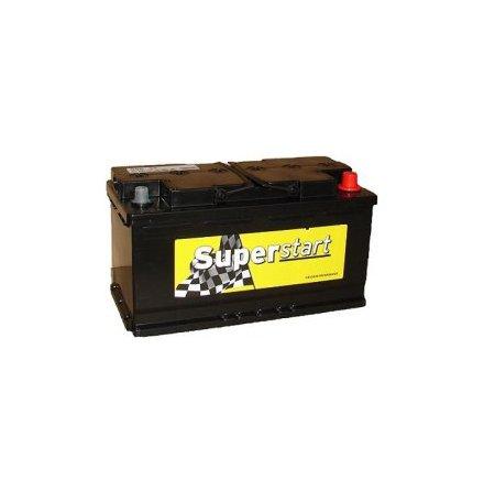 Bilbatteri 12V 95Ah Superstart S9533. LxBxH:353x174x190mm. Tillverkad av Banner bäst i Testfakta 2013 och 2015.