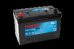 Bilbatteri 95Ah Tudor Exide TL955 Start-Stop EFB. LxBxH:306x173x222mm