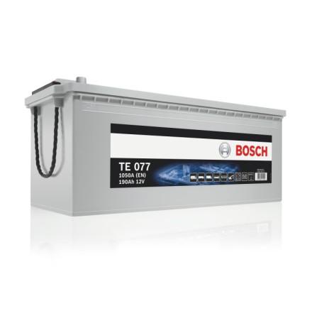 Bilbatteri 12V190Ah Bosch TE0777 EFB teknik.LxBxH:480/513x223x223mm ETN 680500100