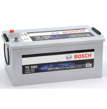 Bilbatteri 12V 225Ah Bosch TE080 EFB teknik.LxBxH:480/518x276x242mm ETN 725 500 115