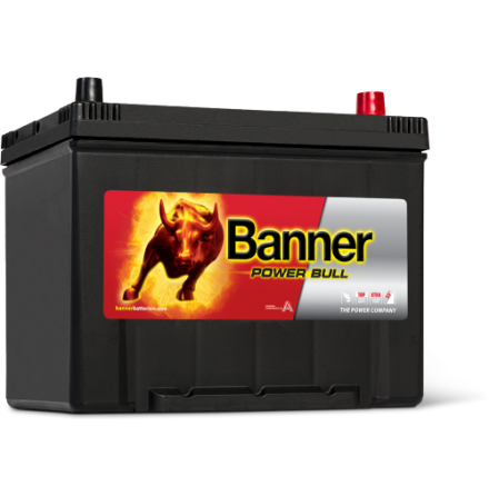 Bilbatteri 12V80Ah Banner PowerBull P8009. LxBxH:260x174x200/222mm Banner Bäst i Testfakta 2013 och 2015