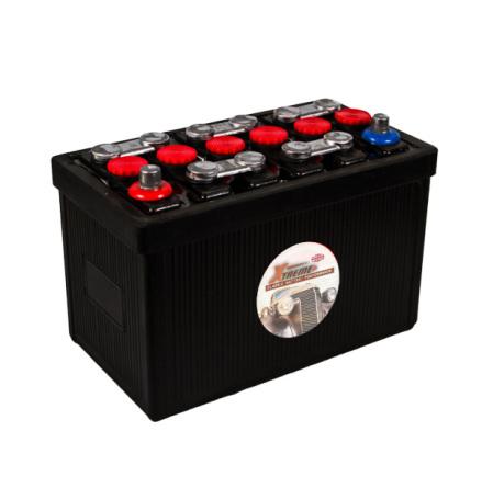 Bilbatteri 12V 60Ah Veteranbil LxBxH:250x175x225mm
