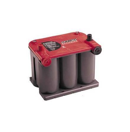 Optima startbatteri 12V 44Ah Red Top RTU 3.7 8022-255 LxBxH:237x171x197mm
