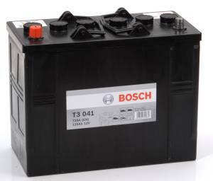 Startbatteri Bosch 12V/125Ah T3041