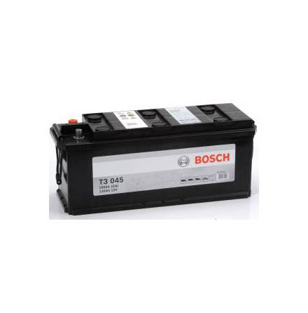 Bilbatteri 12V 135Ah Bosch T3045 LxBxH:480/514x175x210mm DIN:635052100