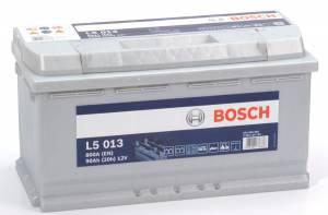 Fritidsbatteri 12V 90Ah Bosch L5013 LxBxH=LxBxH:353x175x190mm Kampanj 15% rabatt.
