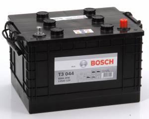 Bilbatteri 12V 135Ah Bosch T3044 DIN: 635042068 LxBxH:360x253x240mm