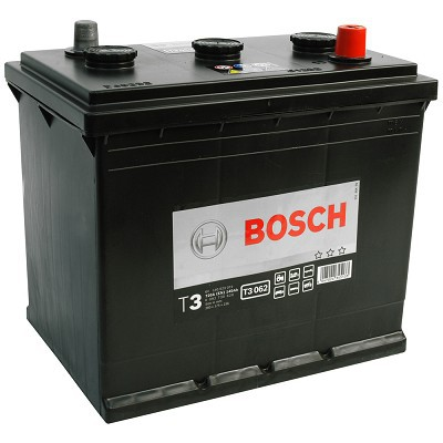 Bilbatteri 6V 140Ah Bosch T3062 DIN:140023072 LxBxH:260x175x236mm