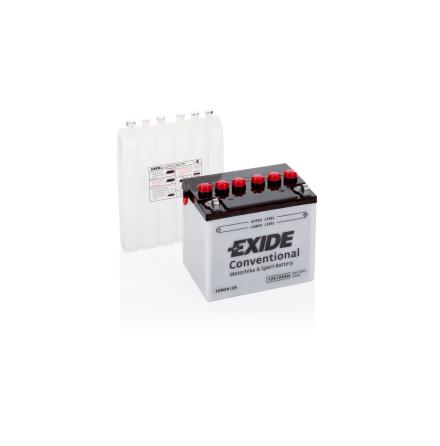 Tudor Exide MC batteri 24Ah 12N24-3A 4501 lxbxh=184x124x175mm CCA 220(EN)