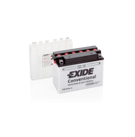 Tudor Exide MC batteri 20Ah Y50-NL18L-A lxbxh=205x90x162mm 4944 CCA 260(EN)