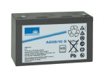 Gelbatteri 6V 10Ah Sonnenschein A506/10S. LxBxH:152x50,5x98,4mm