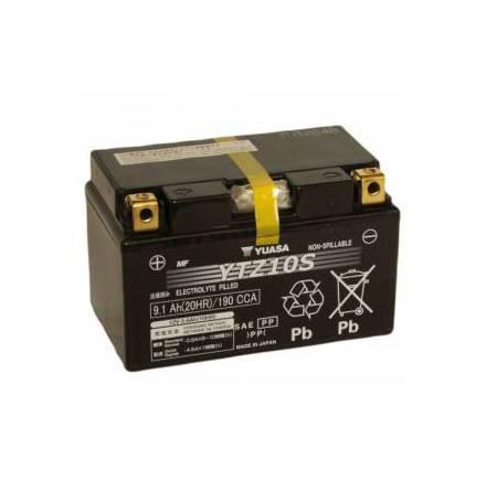 YUASA MC batteri 8,6Ah YTZ10S lxbxh=150x87x93mm