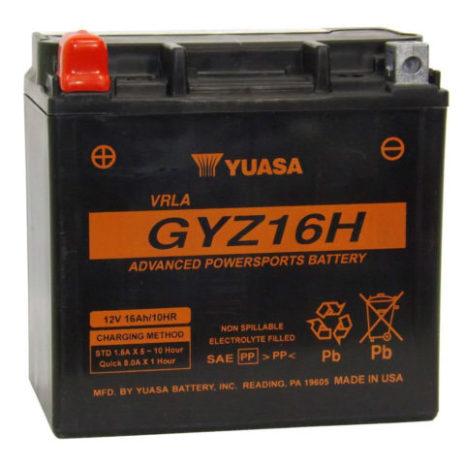 YUASA MC batteri 16Ah GYZ16HL lxbxh=150x87x145mm