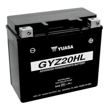 YUASA MC batteri 20Ah GYZ20HL lxbxh=175x87x155mm