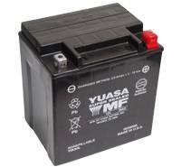 YUASA MC batteri 30Ah YIX30L lxbxh=166x126x175mm. Fylld och laddad. Klar att användas.
