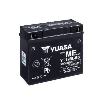 YUASA MC batteri 17,7Ah YT19BL-BS lxbxh=186x82x171mm