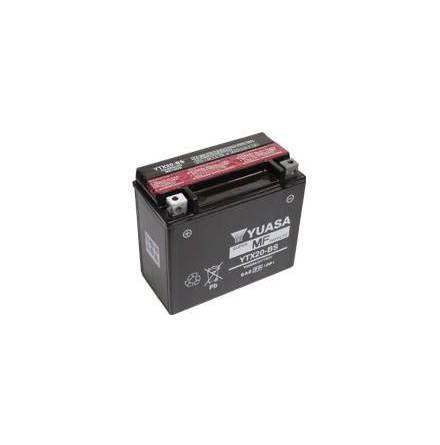 YUASA MC batteri 18Ah YTX20-BS lxbxh=175x87x155mm