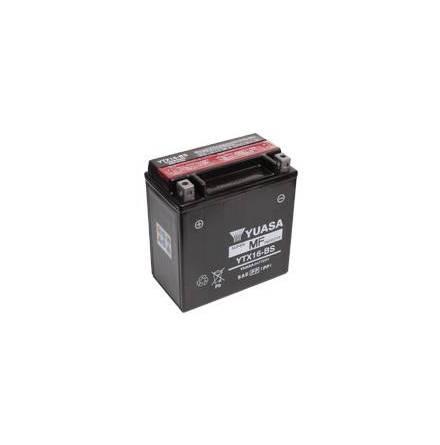 YUASA MC batteri YTX16-BS lxbxh=150x87x161mm