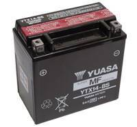 YUASA MC batteri 12Ah YTX14-BS lxbxh=150x87x145mm