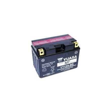 YUASA MC batteri YT12B-BS LxBxH: 150x87x105mm