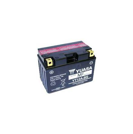 YUASA MC batteri 10Ah YT12A-BS lxbxh=150x87x105mm