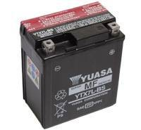 YUASA MC batteri 6Ah YTX7L-BS lxbxh=114x71x131mm