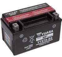 YUASA MC batteri 6Ah YTX7A-BS lxbxh=150x87x94mm