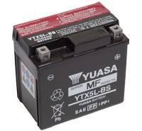 YUASA MC batteri 4Ah YTX5L-BS lxbxh=114x71x106mm