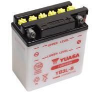 YUASA MC batteri YB3L-B 3Ah lxbxh=98x56x110mm