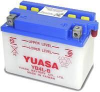 YUASA MC batteri YB4L-B 4Ah lxbxh=120x70x92mm