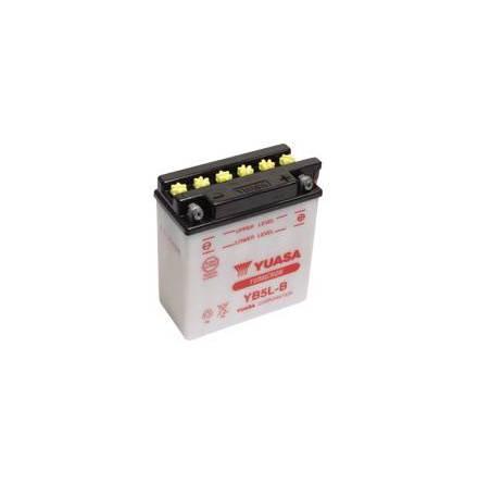 YUASA MC batteri YB5L-B  5Ah lxbxh=120x60x130mm