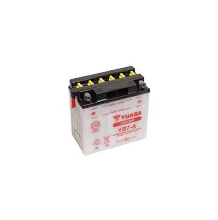 YUASA MC batteri YB7-A 8Ah lxbxh=135x75x133mm
