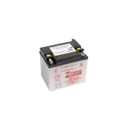 YUASA MC batteri YB7C-A 7Ah lxbxh=130x90x114mm