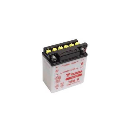 YUASA MC batteri YB9-B 9Ah lxbxh=135x75x139mm