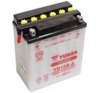 YUASA MC batteri YB12A-A 12Ah lxbxh=134x80x160mm