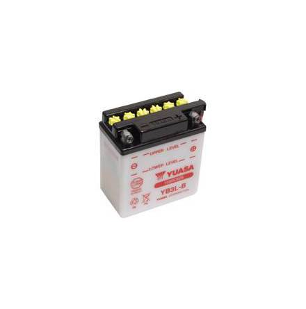 YUASA MC batteri YB14-A2 LxBxH: 134x89x166mm