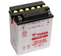 YUASA MC batteri YB14-A2 14Ah lxbxh=134x89x166mm