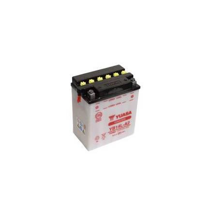 YUASA MC batteri YB14L-A2 14Ah lxbxh=134x89x166mm
