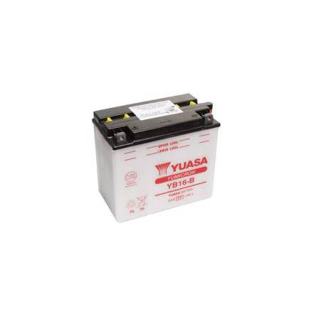 YUASA MC batteri YB16-B 19Ah lxbxh=175x100x155mm
