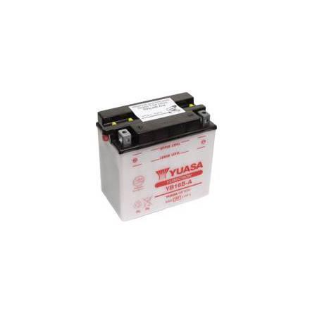 YUASA MC batteri YB16B-A 16Ah lxbxh=160x90x161mm