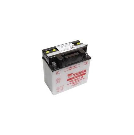 YUASA MC batteri YB16CL-B 19Ah lxbxh=175x100x175mm