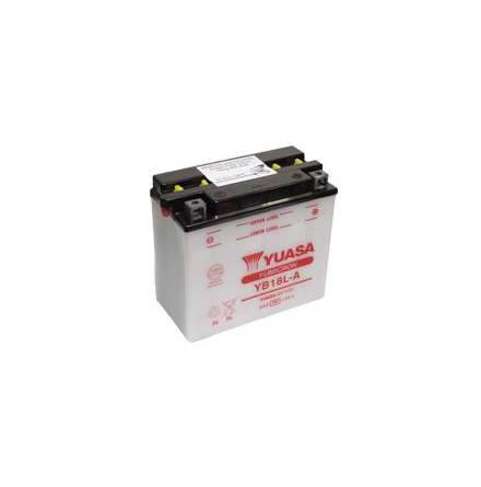 YUASA MC batteri YB18L-A 18Ah lxbxh=180x90x162mm