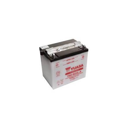 YUASA MC batteri Y60-N24L-A 28Ah lxbxh=184x124x175mm