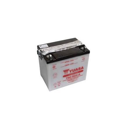 YUASA MC batteri Y60-N24-A 28Ah lxbxh=184x124x175mm