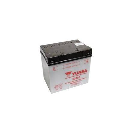 YUASA MC batteri 53030 30Ah/20h lxbxh=186x130x171mm