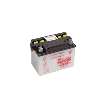YUASA MC batteri YB4L-A 4Ah lxbxh=120x70x92mm