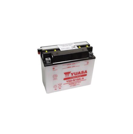 YUASA MC batteri Y50-N18A-A 20Ah lxbxh=205x90x162mm