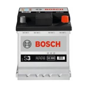 Bilbatteri 12V 40Ah Bosch S3000 ETN 540 406 034 LxBxH:175x175x190mm Utgått och ersätts av Varta B36